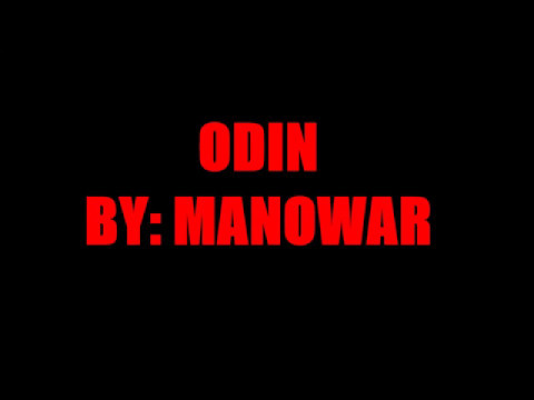 ODIN  MANOWAR LYRIC VIDEO