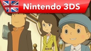 Professor Layton and the Azran Legacy - Trailer (Nintendo 3DS)