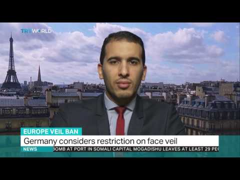 After France's, Germany's Full Face Veil Ban - Yasser Louati TRT World
