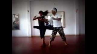 Couple Dance on Hindi Bollywood song Salsa style