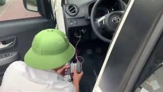 Hướng dẫn lắp thiết bị giám sát hành trình cho xe ô tô Grabcar