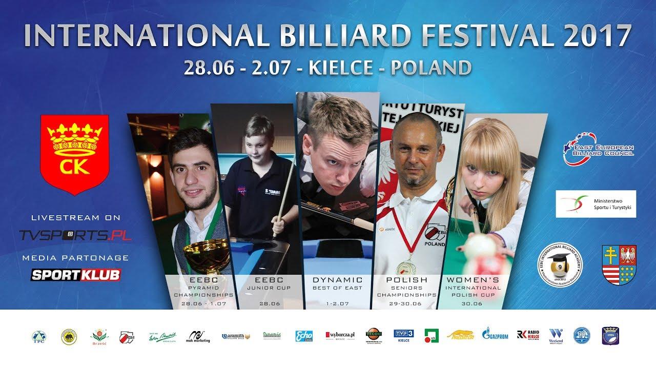 Mistrzostwa Polski Old Boys – Bilardowy Festiwal KIELCE 2017