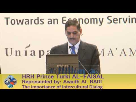 Beirut Conference 2013 - HRH Prince Turki AL-FAISAL: The Importance of Intercultural Dialog
