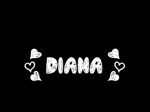 3-One Direction - Diana (LYRICS ON SCREEN) Midnight Memories