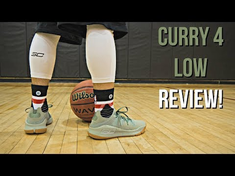 Under Armour Curry 4 Low Performance Review!