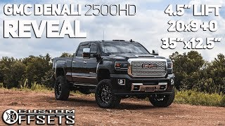 2018 GMC 2500HD GETS A NEW LOOK!