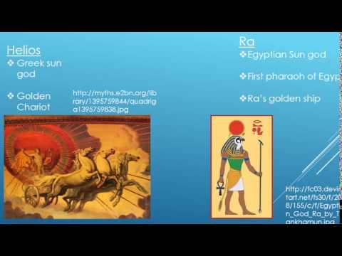 Ancient Egyptian Gods vs Ancient Greek Gods