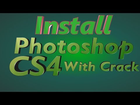 How To Install Adobe Photoshop CS4 Extended