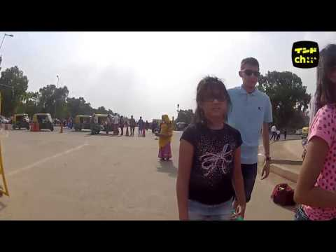 GOPRO at the entrance of India Gate Delhi