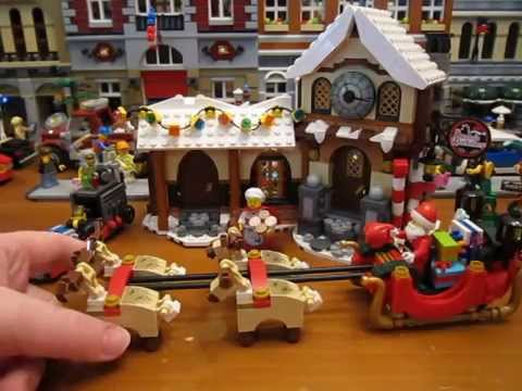Lego Creator Set 10245 Santa's Workshop Review! - YouTube