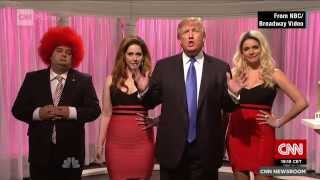Donald Trump hosts SNL - here on the highlights from Saturday Night Live