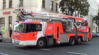 ELW + 2 x HLF + TGM/ TMB + Reserve-DLK + ELW B-Dienst BF Leipzig (FW West & Mitte) [9.2014]