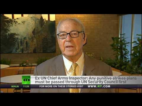 Syrian war a contest between Saudi Arabia & Iran - Ex UN Chief Arms Inspector