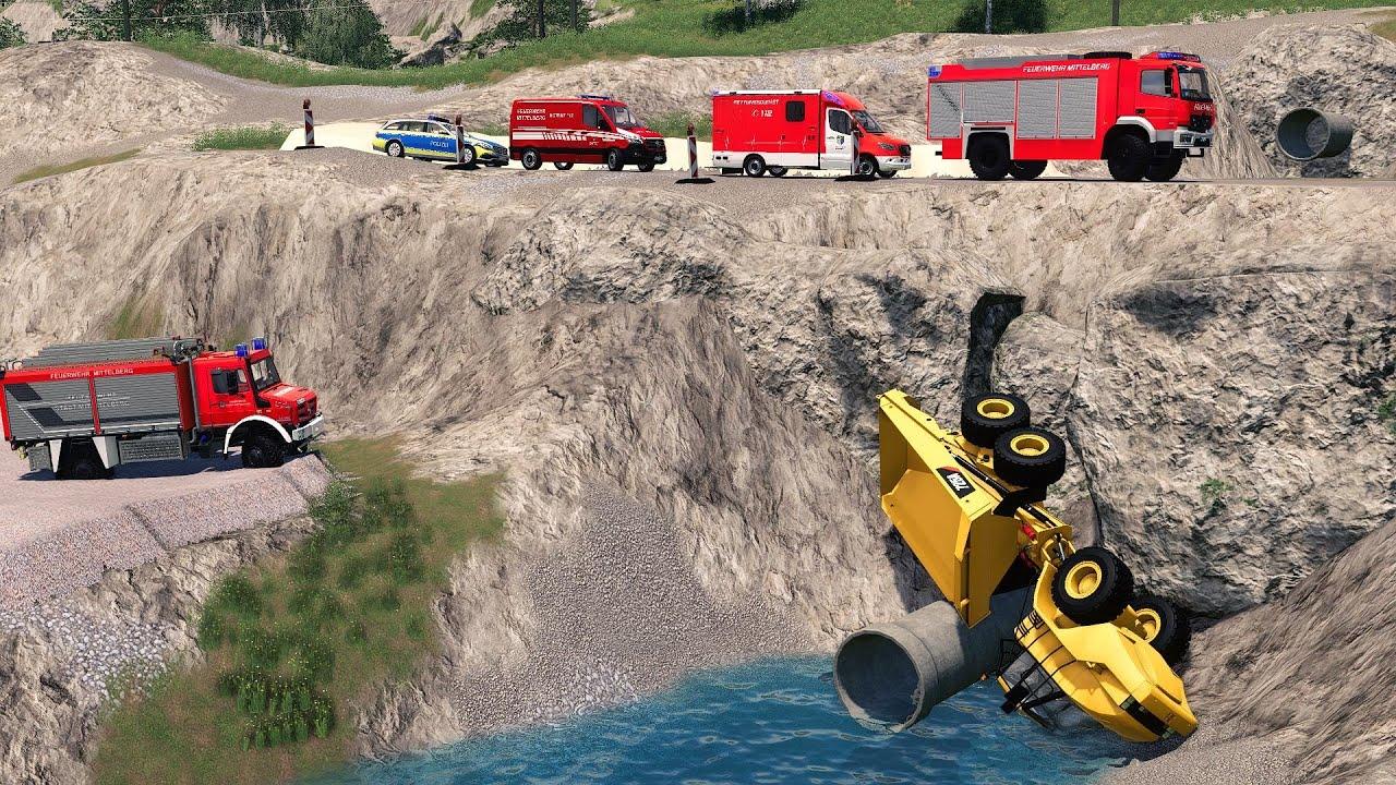 Download LS19 - Kipplader stürzt im Kieswerk ab! [7|7] Feuerwehr Einsatz Woche