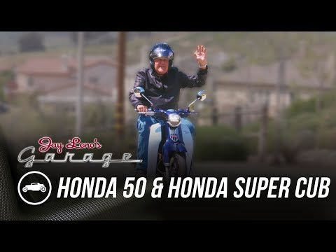 Honda 50 And Honda Super Cub - Jay Leno's Garage