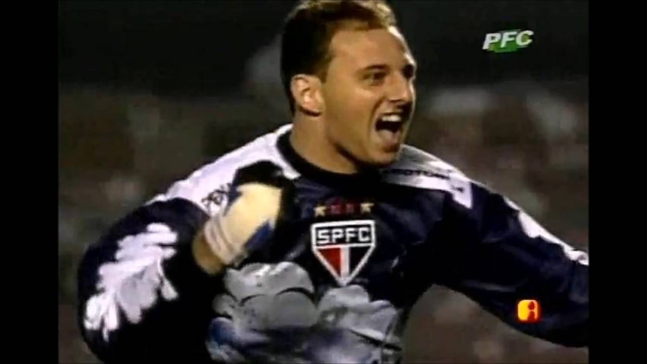 Gol Rogério Ceni x Santos 2000 Narra§£o José Silvério Rádio