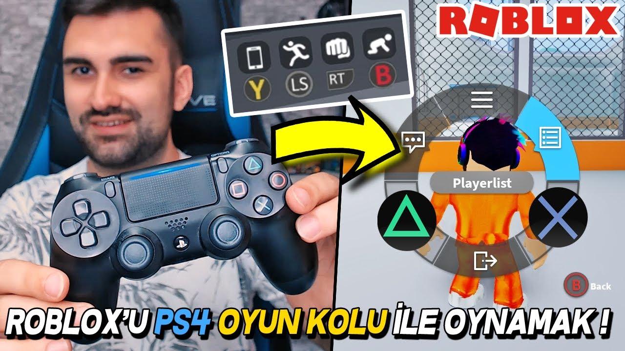 ROBLOX 'U Playstation 4 OYUN KOLU İLE OYNAMAK ! Roblox Mad City