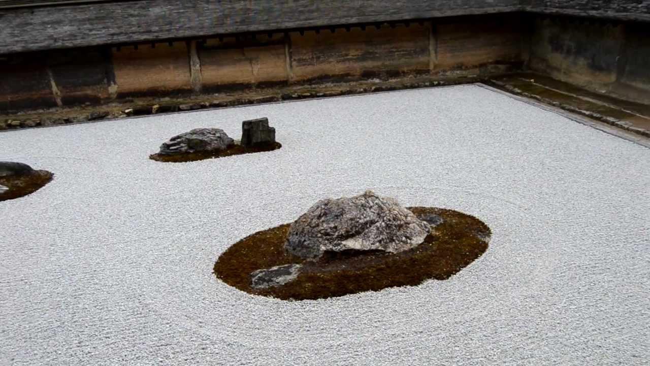 Ro e Ila in Giappone: Giardino Zen del tempio di Ryoanji di Kyoto - YouTube