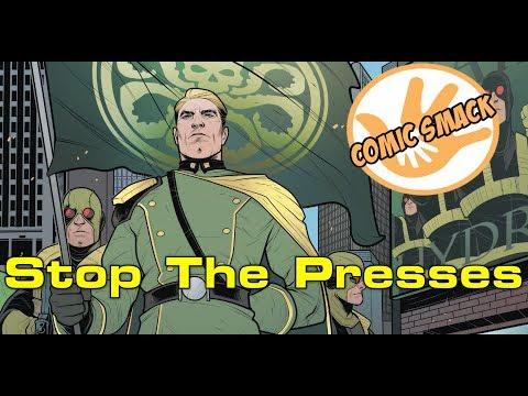 Stop The Presses | Captain America Steve Rogers #17 (Secret Empire Tie In)