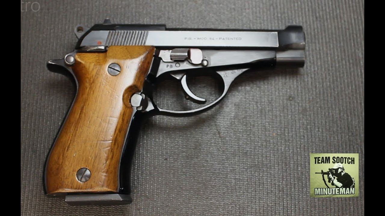 Beretta Model 84 380 ACP Pistol Review