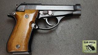 Beretta Model 84 380 ACP Pistol Review