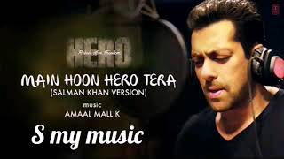 'Main Hoon Hero Tera' Full karaoke Song with LYRICS