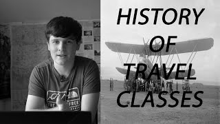 Why where planes split it into travel classes? - A quick history
