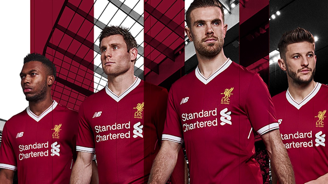 the best attitude 0149f 3c40c 8 Fun Facts Of The New Liverpool FC 2017/18 Home Jersey