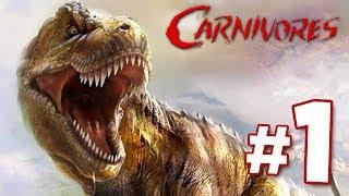 EATEN BY DINOSAURS!!! - Carnivores: Dinosaur Hunter | Part 1