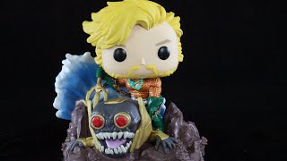 FUNKO POP Game Stop Exclusive DC Collection Aquaman by Jim Lee review
