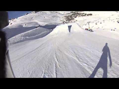 Snowboarding Helmet Cam Enni Rukajärvi