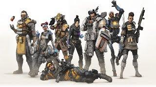 Apex Legends All Legends Skills Skins Banners Quips Finishers