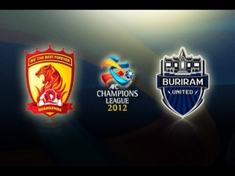 Guangzhou Evergrade Vs Buriram United: AFC Champions League 2012 (Group Stage MD2)