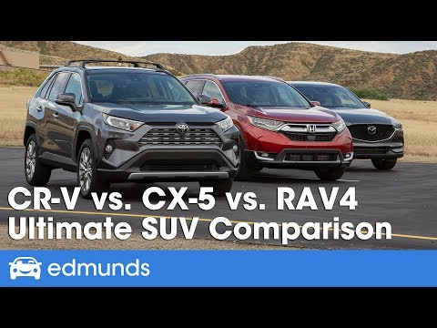 Honda CR-V vs. Mazda CX-5 vs. Toyota RAV4: 2019 Compact SUV Comparison Test