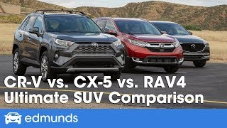 Honda CR-V vs. Mazda CX-5 vs. Toyota RAV4: 2019 Compact-SUV Comparison Test
