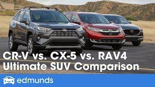 Honda CR-V vs. Mazda CX-5 vs. Toyota RAV4: 2019 Compact SUV Comparison Test