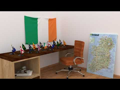 Himno y banderas de Irlanda | Ireland flags and anthem