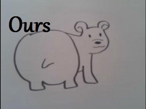 Dessiner un ours polaire youtube - Dessiner un ours en maternelle ...