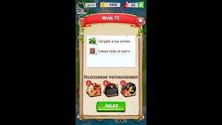 Angry birds match level 72