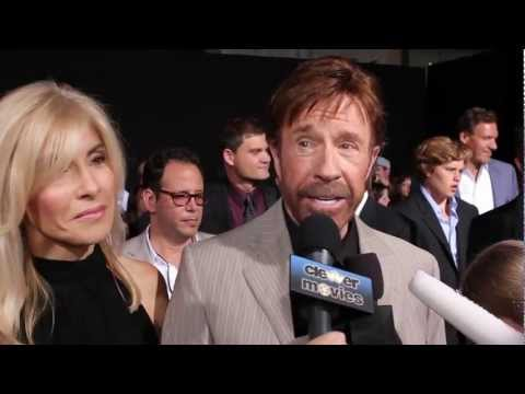 Chuck Norris Talks Joining 'The Expendables 2' At Premiere