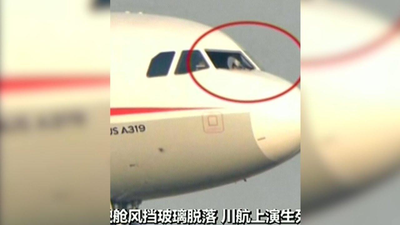 loch in der cockpitscheibe airbus muss in china notlanden youtube. Black Bedroom Furniture Sets. Home Design Ideas