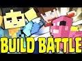 MINECRAFT: BUILD BATTLE - LO SPAZZOLINO DELLA MORTE E IL COMPLOTTO DEL PORCELLINO!!