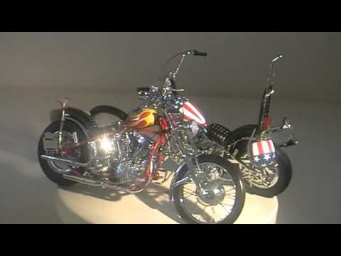 easy rider bikes captain america billy bike youtube. Black Bedroom Furniture Sets. Home Design Ideas