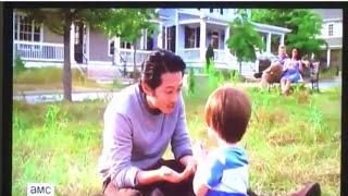 Cena deletada de The Walking Dead Como seria o futuro se Glenn e Abraham não tivessem morrido