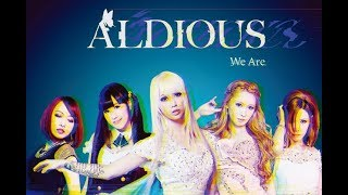 """Aldious 9曲入り新作「We Are」!(Aldious New Release """"We Are"""")"""