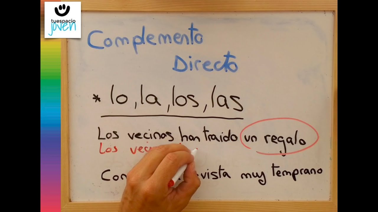 Complemento directo  YouTube
