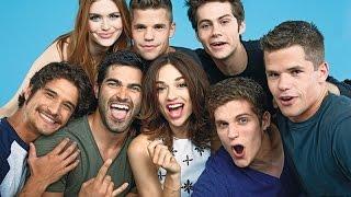 Les acteurs de Teen Wolf parlent français !