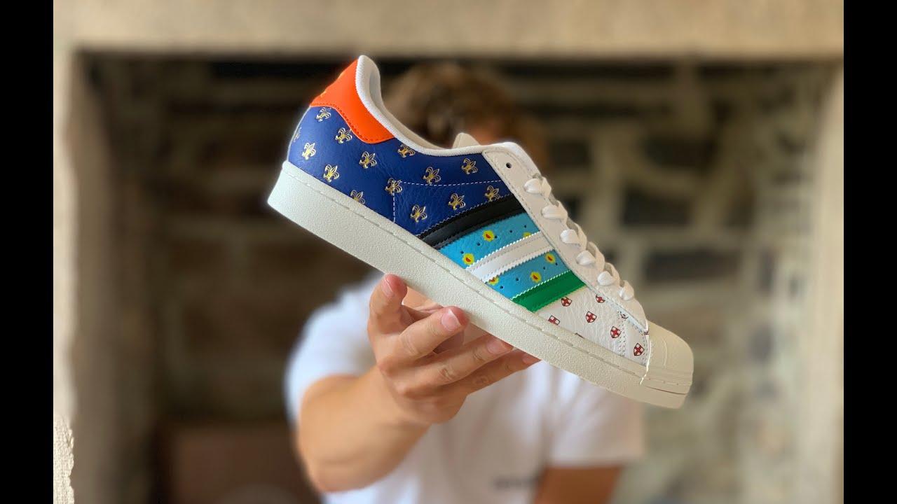 Adidas x size? EXCLUSIVE Superstar