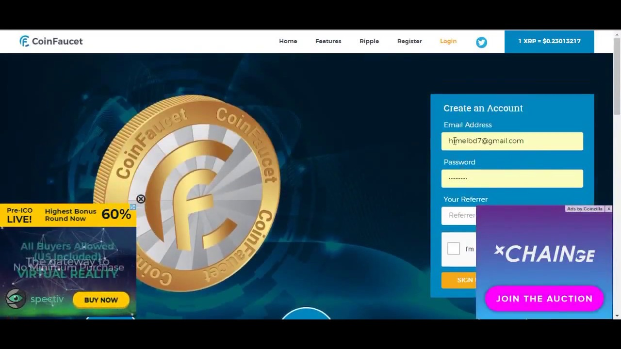 Free Ripple XRP Faucet Cryptocurrency 2018 - YouTube