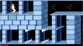 Prince of Persia 1 -  Ms-Dos Classic PC-Game (1989) Playthrough